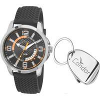 Kit Relógio Masculino Condor Co2115Vdk8C