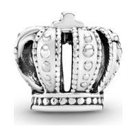 Charm De Prata Coroa Real