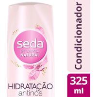 Condicionador Seda Recarga Natural Hidratação Antinós 325Ml