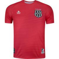 Camisa De Goleiro Da Ponte Preta I 2020 11.08 - Masculina - Vermelho