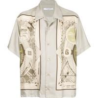 Givenchy Camisa Atlas - Neutro