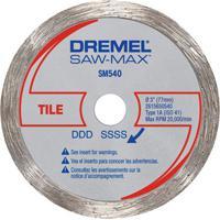 "Disco Corte Azulejo Dremel Saw-Max 3"", Sm540"