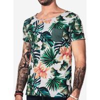 Camiseta Floral Mescla 101433