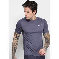 Netshoes  Camiseta Nike Dri-Fit Miler Ss Masculina - Masculino 332f532fc3835