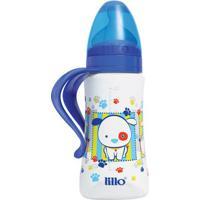 Mamadeira Ortodôntica - Design Fashion - Tamanho 2 - 300 Ml - Azul - Lillo