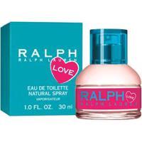 Ralph Love Feminino Eau De Toilette 30Ml