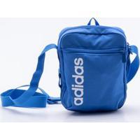 044845518 Di Santinni; Bolsa Adidas Linear Core Azul Único