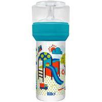 Mamadeira Lillo Super Divertida Azul 260Ml