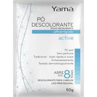 Pó Descolorante Yamá - Active Tradicional 50G - Unissex