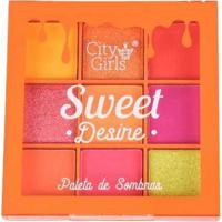 Paleta De Sombras Sweet Desire City Girls A C