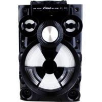 Caixa De Som Xtrad Portátil Amplificada Mp3 Fm Sd Usb Bluetooth 15Wrms - Unissex