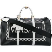 Versace Mala 90S Vintage Logo - Preto