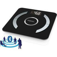 Balança Digital Bluetooth De Vidro Com Análise Corpórea - Bioland - Unissex