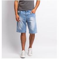 Bermuda Jeans Masculina Lisa