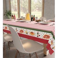 Toalha De Mesa Quadrada Jantar Italiano (140X140Cm) - Teka - Multicolorido - Dafiti