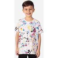 Camiseta Infantil Hermoso Compadre Cmyk Masculina - Masculino-Branco