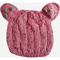 Gorro Infantil Ania Store Charlie - Feminino-Rosa