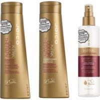 Kit Shampoo Condicionador E Leave In Joico Kpak Color Branco - Tricae