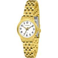 Relógio Lince Feminino - Lrg4433L B2Kx - Feminino-Dourado