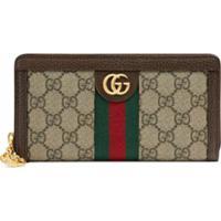 Gucci Carteira 'Ophidia Gg' - Neutro