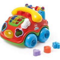 Brinquedo Calesita Fala Fone Vermelho