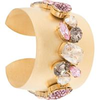 d389665e699 Farfetch  Melissa Kandiyoti Bracelete Com Aplicação - Dourado