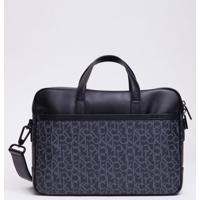 Bolsa Ck Mono 1 Gusset Laptop Bag - Preto - U