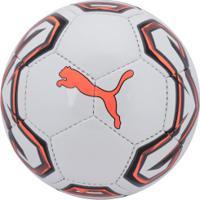 Bola De Futsal Puma Trainer 19 - Branco/Laranja