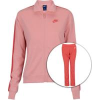 Agasalho Nike Sportswear Track Suit - Feminino - Coral