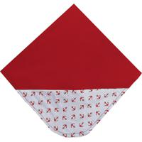 Manta De Beb㪠Padroeira Baby Marinheiro Vermelho - Vermelho - Menino - Dafiti