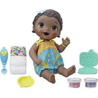 Boneca Baby Alive - Lanchinhos Divertidos - Negra - E5839 - Hasbro