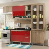 Cozinha Compacta Roberta Iv 9 Pt 3 Gv Argila