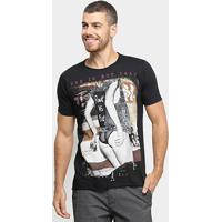 Camiseta Derek Ho Punk Lady Masculina - Masculino-Preto