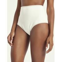 Biquíni Calcinha Hot Pants Lisa Texturizado
