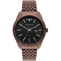 Relógio Technos Riviera Masculino Marrom 2115Msw/4P 2115Msw/4P