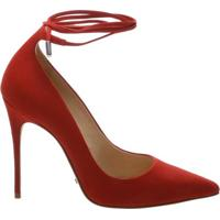 Scarpin Lace Up Tango Red | Schutz