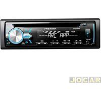 Auto Rádio Mp3 Player - Pioneer - Usb/Mixtrax/Wma/Interface P/Android/Flashing Light - Cada (Unidade) - Deh-X1Br