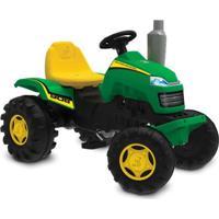 Carrinho De Passeio - Trator Country - Verde E Amarelo - Bandeirante