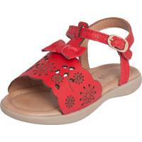Sandália Ortopé Carinhoso Vermelha