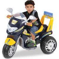 Moto Elétrica Biemme Sprint Policial Preto