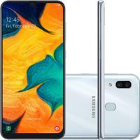 """Smartphone Samsung Galaxy A30 64Gb 6.4"""""""" Com 4Gb Ram E Câmera Traseir"""