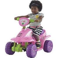 Quadriciclo Elétrico Infantil New Rosa - Biemme