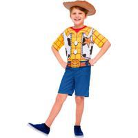 Fantasia Curta Toy Story 4 Woody M - Regina Festas