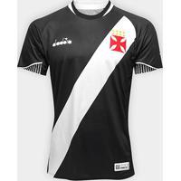Netshoes  Camisa Vasco I 2018 S N° Jogador Diadora Masculina - Masculino 73f253e6dcd56