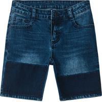 Bermuda Jeans- Azullilica Ripilica E Tigor T. Tigre