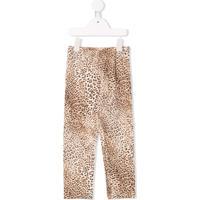 Monnalisa Leopard Print Leggings - Neutro