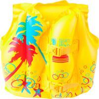 Colete Salva-Vidas Inflável Bestway Tropical - Infantil - Amarelo