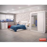 Dormitório Sublime Branco Madesa