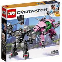 Lego Overwatch - D.Va E Reinhardt - 75973 Lego 75973