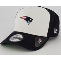 Boné New Era Nfl New England Patriots 940 Branco